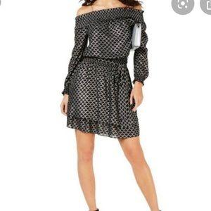 Michael Kors Off Shoulder Dress